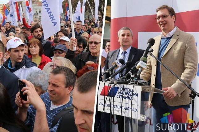 Vučić: Vojvodina zaslužuje i može mnogo bolje!