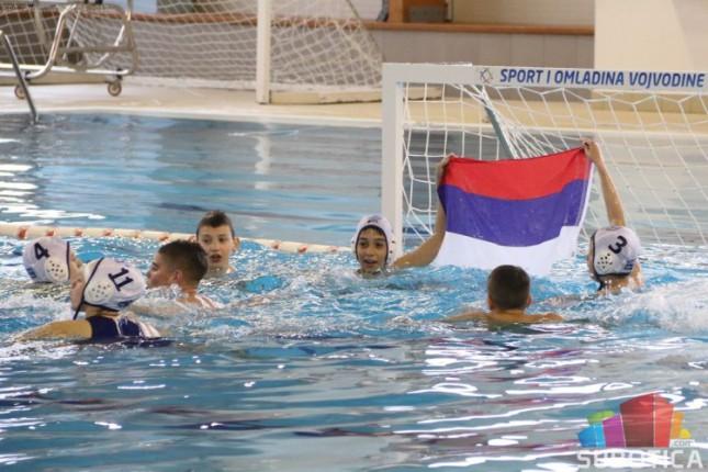 Vaterpolisti Spartak-Prozivke (U12) vicešampioni Regionalne lige