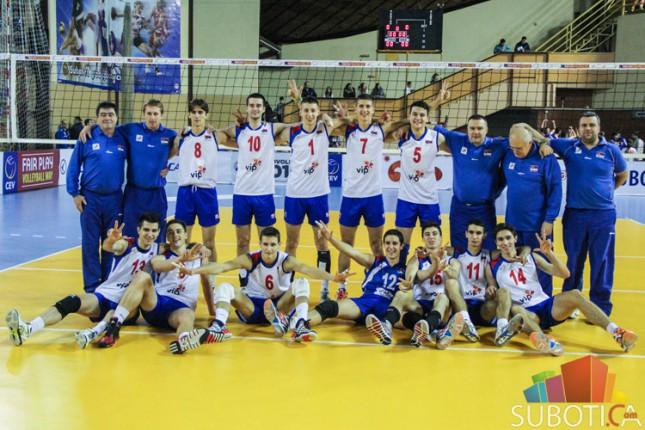Kadeti Srbije obezbedili plasman na Evropsko prvenstvo u odbojci