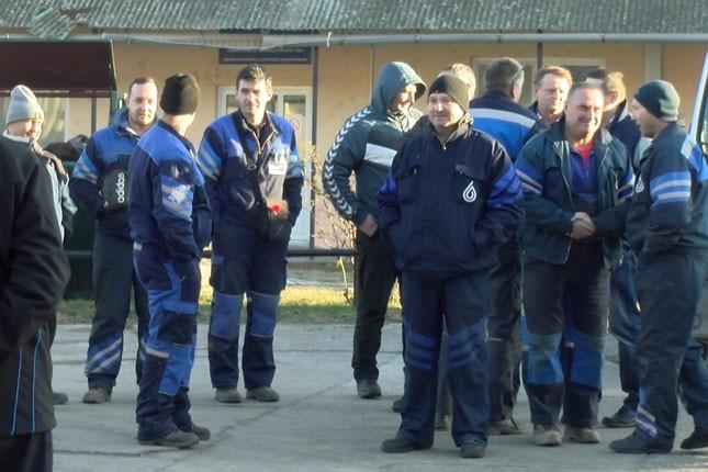 """Zaposleni u """"Vodovodu"""" održali jednočasovni štrajk upozorenja"""