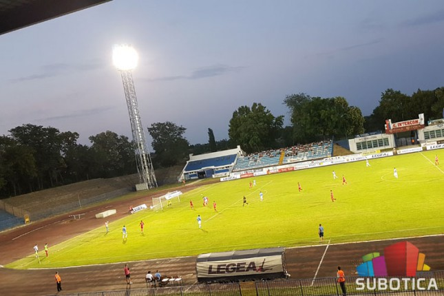 Fudbal: Spartak poražen u komšijskom derbiju od TSC-a (1:2)