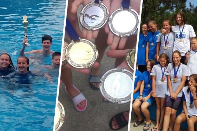 Fantastični rezultati subotičkih plivača na mitingu u Adi