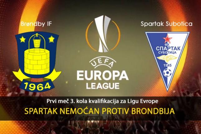 Fudbal: Spartak nemoćan protiv Brondbija