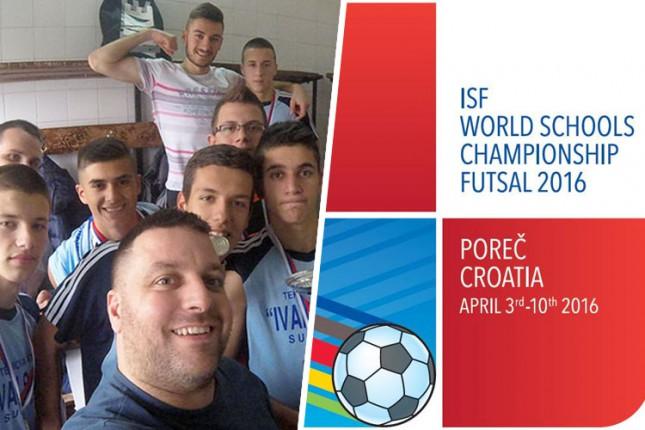 Futsaleri MESŠC-a na Svetskom prvenstvu u Poreču