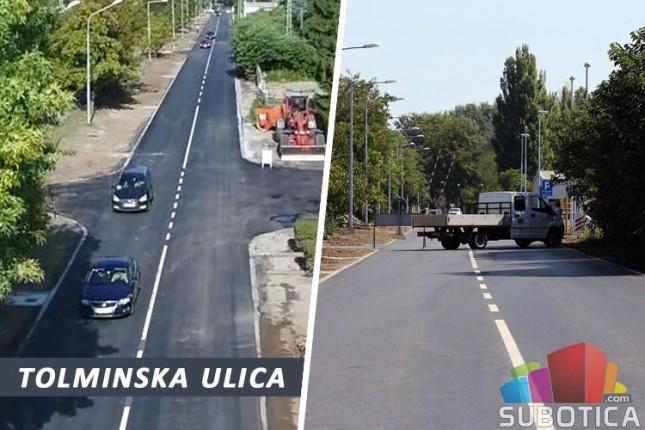 Rekonstruisana Tolminska ulica