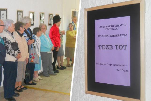 Prvoaprilska izložba u Domu penzionera