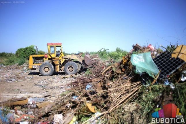 Počelo uklanjanje najveće divlje deponije u Subotici