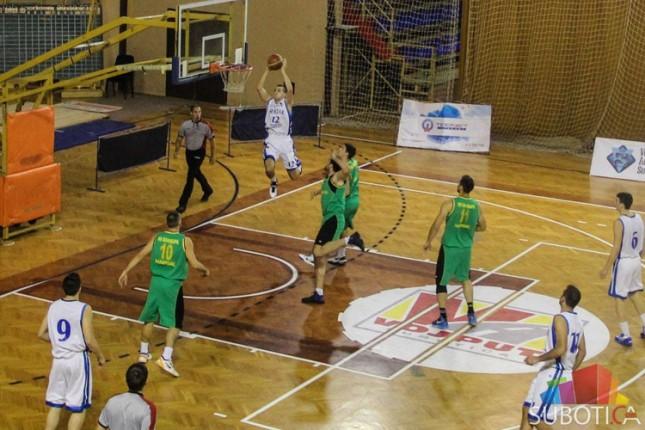 Košarkaši Spartaka poraženi od Proletera (88:79)