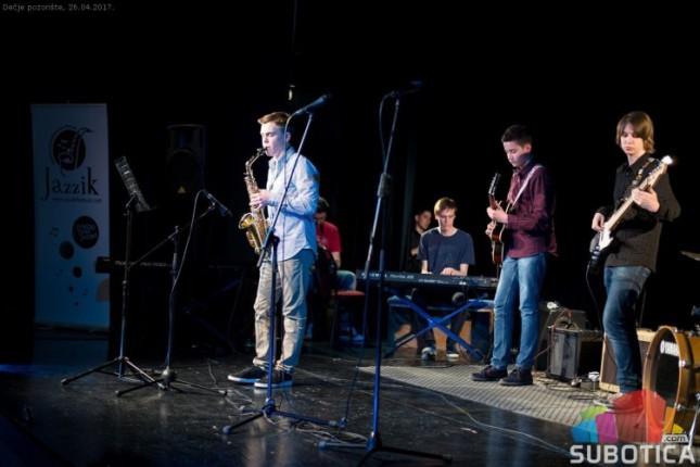 Koncert džez muzike u Dečjem pozorištu