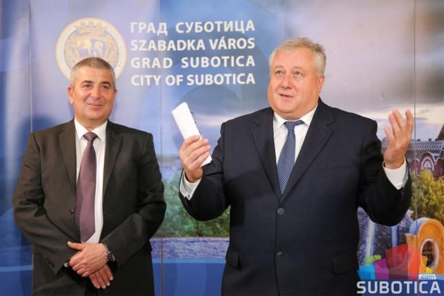 Veliki potencijal saradnje Subotice i Belorusije
