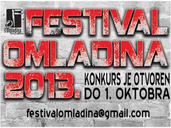 """Konkurs za nove kompozicije koje će biti izvedene na """"Festivalu Omladina 2013."""""""
