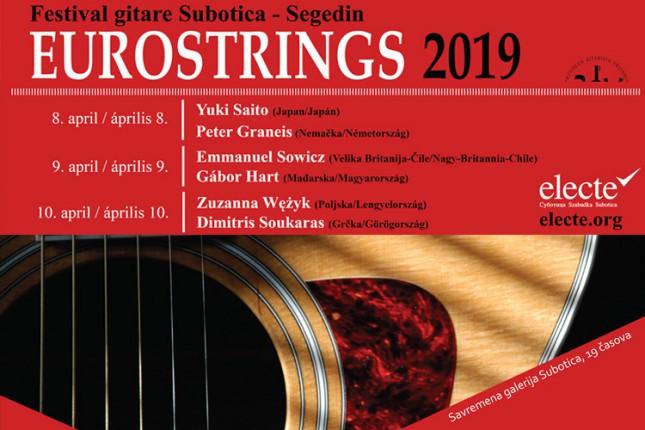 """U ponedeljak počinje Festival klasične gitare """"EuroStrings 2019"""""""