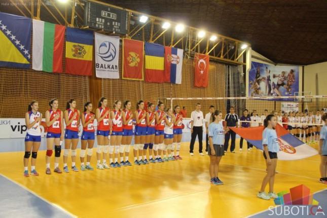 Odbojkašice Srbije odbranile titulu šampiona Balkana