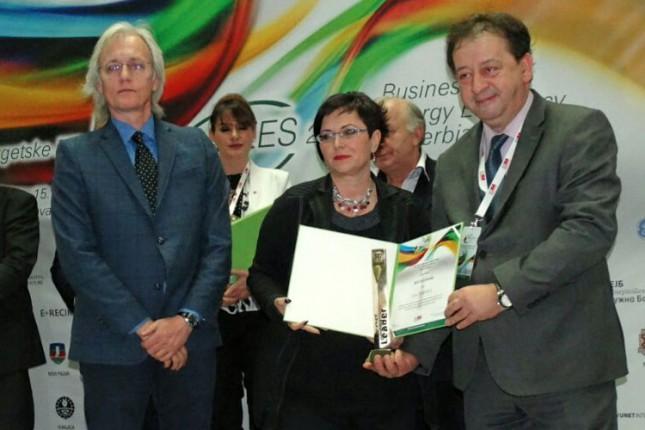 Subotica dobitnik priznanja za izuzetnu društvenu odgovornost u oblasti energetske efikasnosti i zaštiti životne sredine