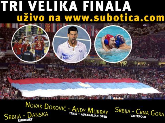Tri finala - uživo na subotica.com!