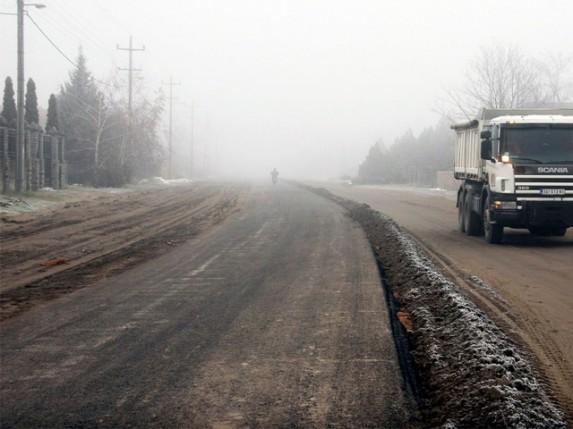 Postavljen prvi sloj asfalta na Čordaškom putu