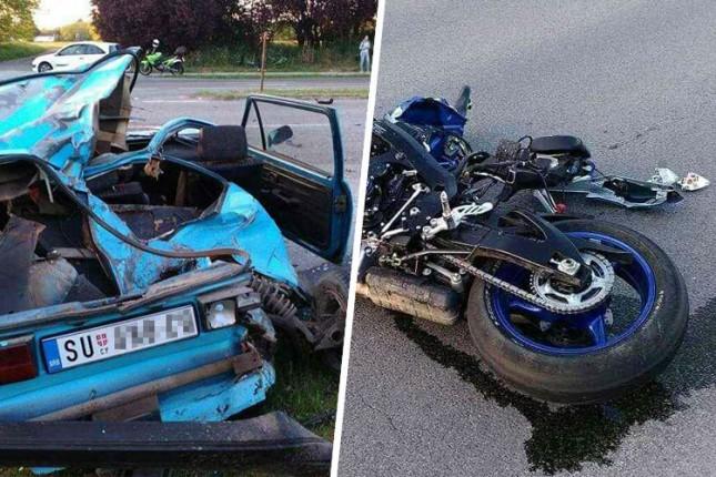 Teška saobraćajna nezgoda na putu za Palić