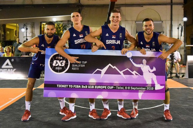 Subotičanin Dušan Simjanovski sa reprezentacijom Srbije u basketu obezbedio plasman na Evropsko prvenstvo
