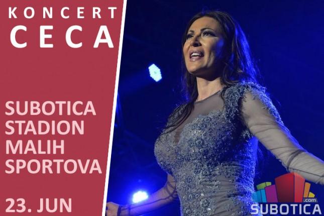 Cecin koncert 23. juna u Subotici