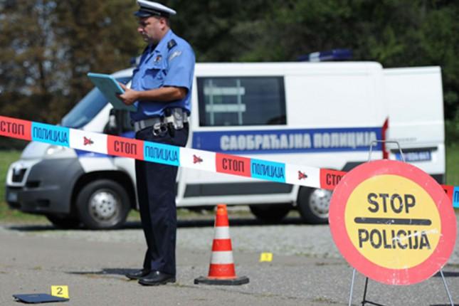 Četiri saobraćajne nezgode tokom protekle sedmice