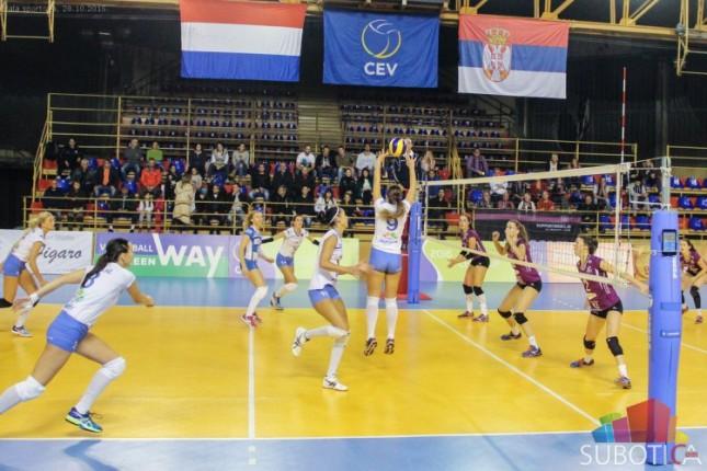 Odbojkašice Spartaka poražene u prvom meču 1/8 finala Kupa CEV