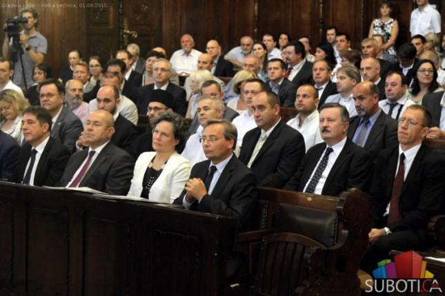 Održana Svečana sednica Skupštine grada povodom Dana Subotice