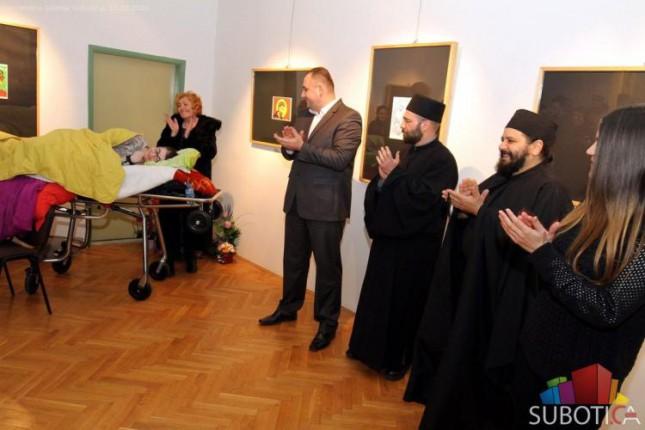 Otvorena izložba ikona autorke Danijele Stankić Kiš