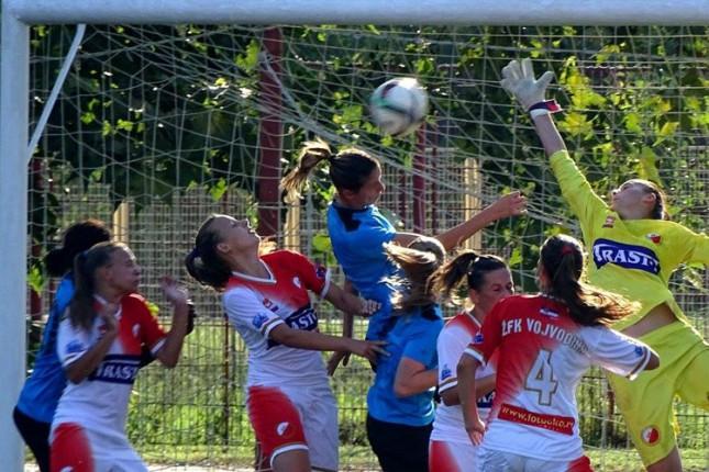 Fudbalerke Spartaka zebeležile i treću pobedu u nizu