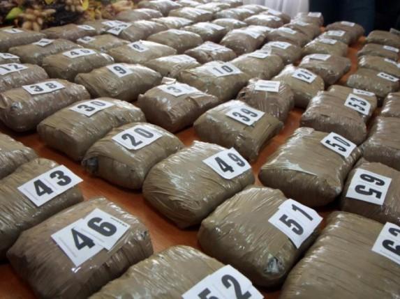 Zaplenjeno 100kg marihuane na Horgošu