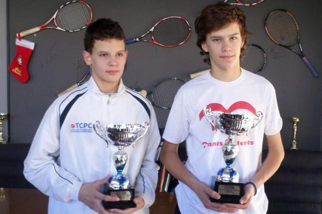 Subotičanin Nemanja Subanović šampion Srbije za tenisere od 14 godina