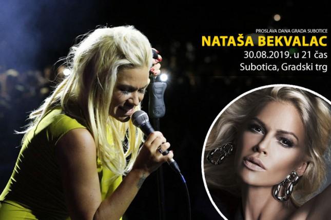 Nastup Nataše Bekvalac deo programa proslave Dana grada