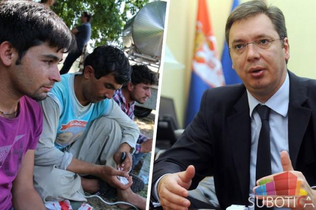 Aleksandar Vučić sutra sa migrantima i na otvaranju pogona u Svarovskom