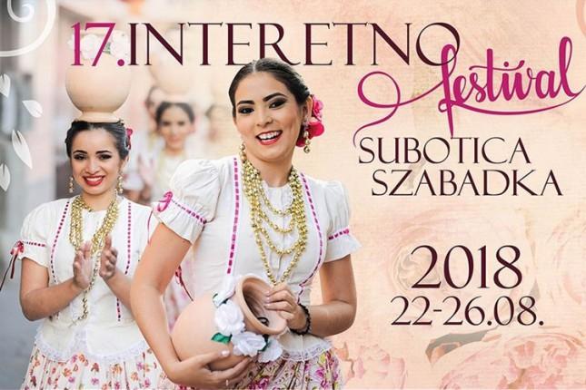 XVII Interetno festival od 22. do 26. avgusta