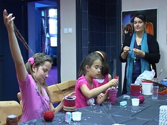 Počele kreativne radionice Dečjeg pozorišta