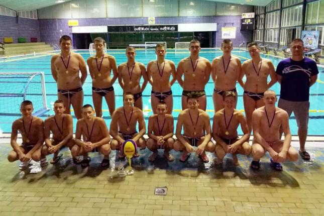 Vaterpolo: Spartak-Prozivka (U15) osvojio međunarodni turnir u Kikindi
