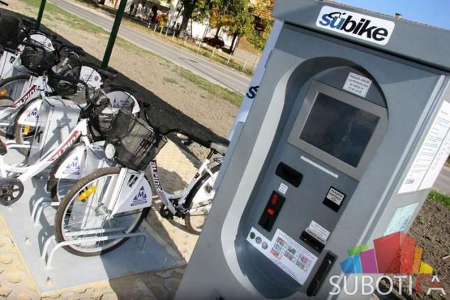 Gradski bicikli od ponedeljka na raspolaganju korisnicima