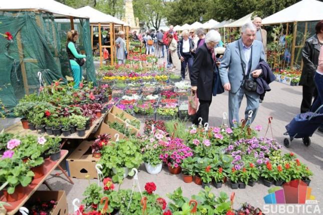 Izložba i vašar baštenskog cveća i sadnica od 19. do 22. aprila u centru grada