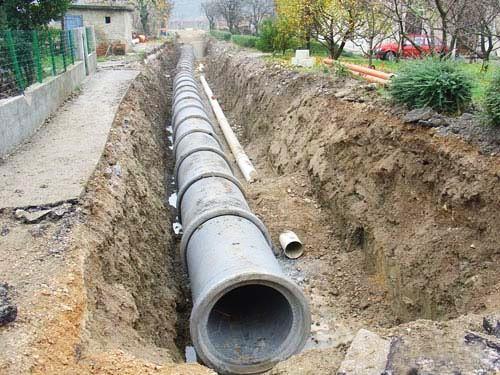 Izgradnja vodovodne i kanalizacione mreže