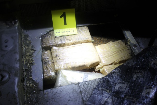 Na Horgošu otkriveno oko 40 kilograma kokaina