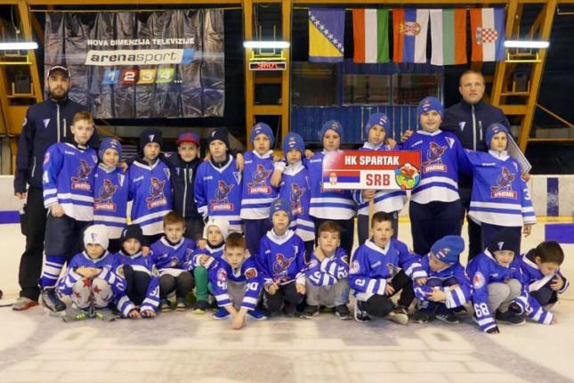 """Hokej: Odlični nastupi U8 i U10 selekcija na memorijalu """"Miodrag Šišić Šile"""" u Beogradu"""
