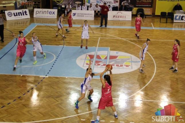 Košarkašice Spartaka savladale novosadski ŽKA (64:43)