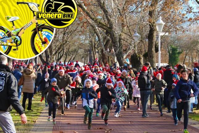 """""""Venera bike"""" nagrađuje učesnike trke Deda Mrazeva na Paliću"""