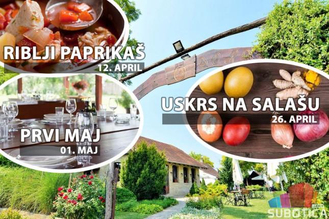 """Bogat program na salašu """"Đorđević"""" u susret uskršnjim i prvomajskim praznicima"""