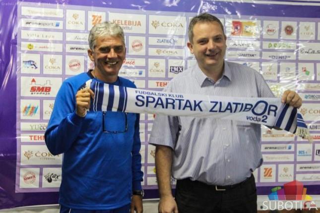 """FK """"Spartak"""" predstavio novog trenera i plan priprema za novu sezonu"""
