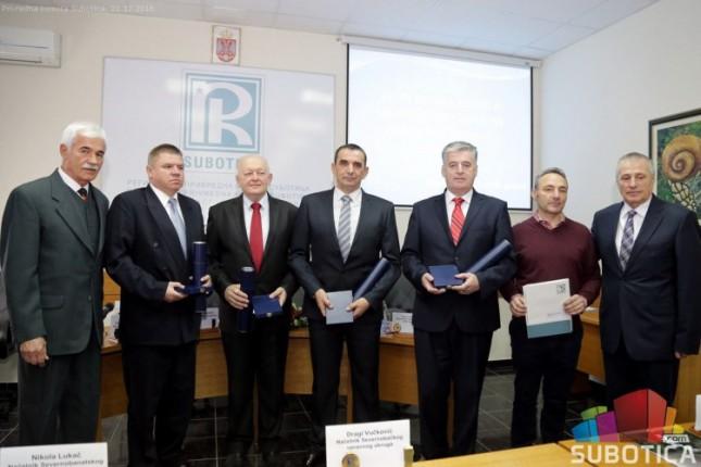 Dodeljene Godišnje nagrade Regionalne privredne komore (RPK)