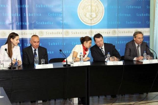 Delegacija češkog grada Olomouca u poseti Subotici