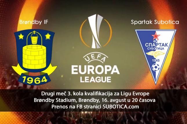 Fudbal UŽIVO: Brondbi - Spartak