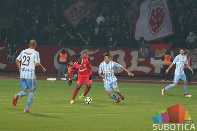 Fudbal: Spartak poražen od Crvene zvezde na premijeri novog terena (1:3)