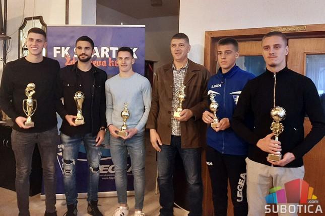 Fudbal: Spartak proglasio najbolje u svojim redovima u 2019. godini