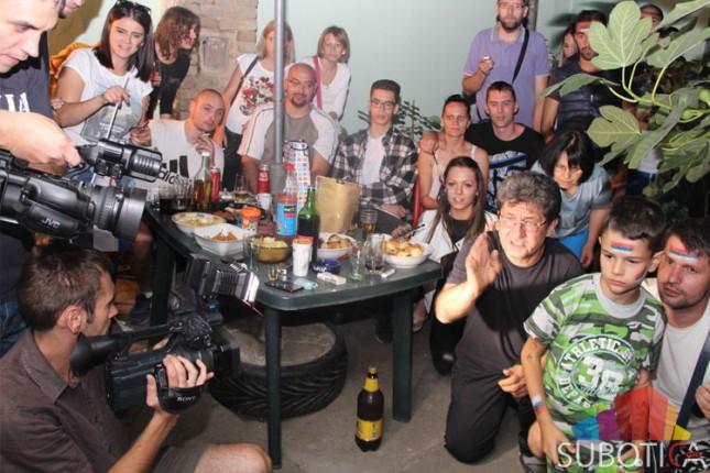 Na slavlju u porodičnom domu zlatnog olimpijca Davora Štefaneka